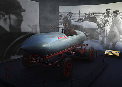 Historic Record Car La Jamais Contente Art Print by Leone M Jennarelli