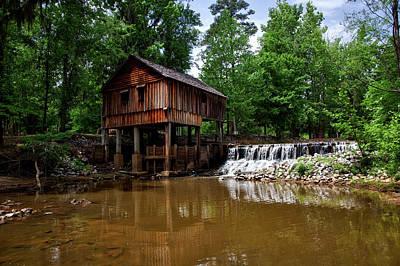 Historic Rikard's Mill - Alabama Art Print by Mountain Dreams