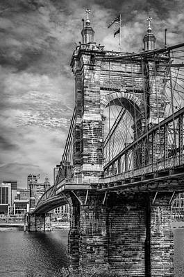 Photograph - Historic Roebling Bridge by Diana Boyd