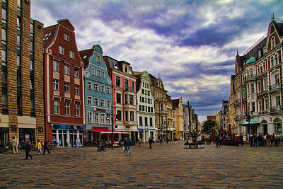 Photograph - Historic Rostock Germany by David Smith