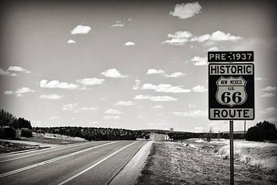 Historic Route 66 Art Print