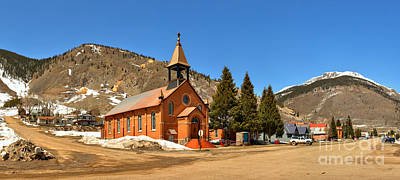 Photograph - Historic Silverton Church by Adam Jewell