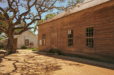Photograph - Historic Sisterdale Dancehall by Debra Martz