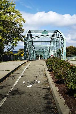 Bridges Photograph - Historic South Washington St. Bridge Binghamton Ny by Christina Rollo