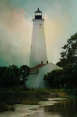 Photograph - Historic St. Marks Lighthouse by Carla Parris