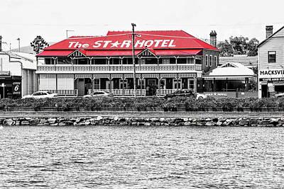 Photograph - Historic Star Hotel Macksville By Kaye Menner by Kaye Menner