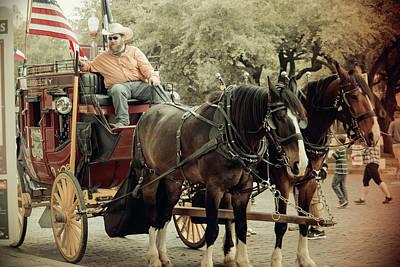 Photograph - Western Stagecoach by Roberta Byram