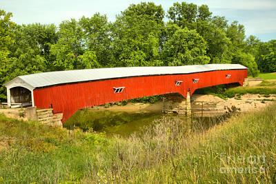 Photograph - Historic Sugar Creek Crossing by Adam Jewell