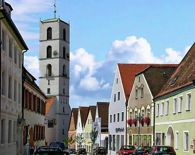 Photograph - Historic Sulzbach-rosenberg by Anthony Dezenzio