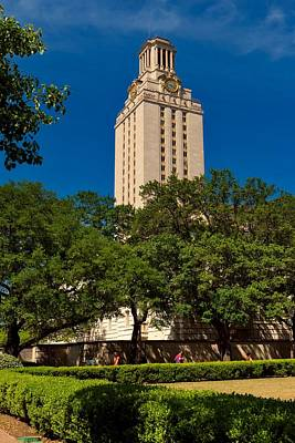 Photograph - Historic Texas Tower by L O C