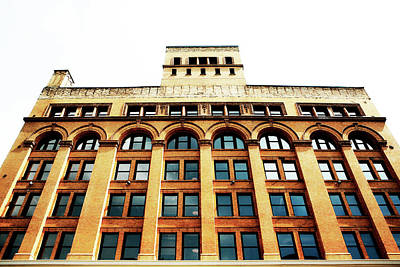 Photograph - Historic Third Ward Building by Marilyn Hunt
