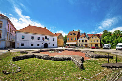 Photograph - Historic Town Of Karlovac Square View by Brch Photography