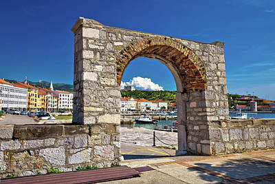 Photograph - Historic Town Of Senj Arch Gate  by Brch Photography
