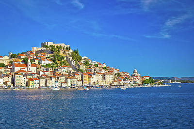 Photograph - Historic Town Of Sibenik Waterfront View by Brch Photography
