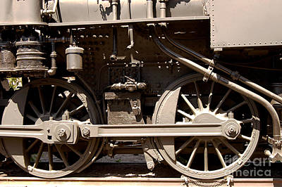 Photograph - Historic Trains by Clayton Bruster