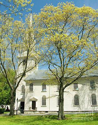 Photograph - Historic Trinity Church 3 by Robert  Suggs