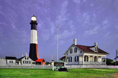Surviving Photograph - Historic Tybee Island Lighthouse Coastal Georgia by Reid Callaway