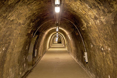 Photograph - Historic Underground Tunnel Under Zagreb Historic Town by Brch Photography