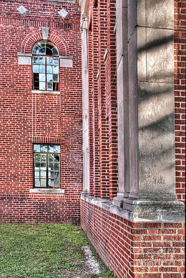 Photograph - Historic Veteran's Hospital II by Tamyra Ayles