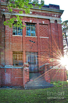 Photograph - Historic Veteran's Hospital IIi by Tamyra Ayles