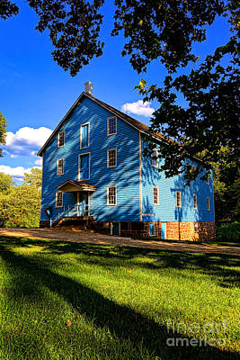 Monmouth County Photograph - Historic Walnford Gristmill by Olivier Le Queinec