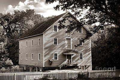 Historic Walnford Mill Art Print
