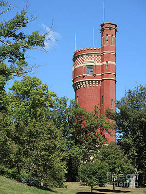 Photograph - Historic Water Tower by Ann Horn