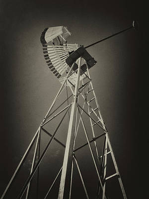 Photograph - Historic Wind Mill by Inge Riis McDonald