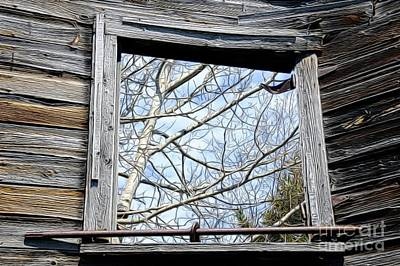 Photograph - Historic Window by Sandra Updyke
