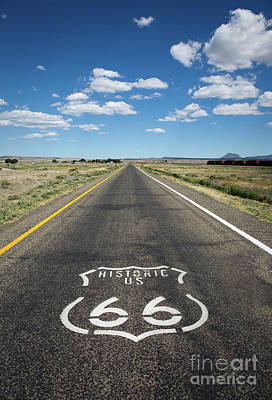 Historica Us Route 66 Arizona Art Print
