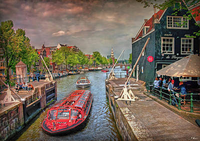 Photograph - Historical Amsterdam by Hanny Heim