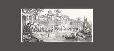 Historical And Anecdotal Shown Great Panorama Art Print by MotionAge Designs