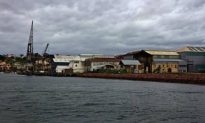 Photograph - Historical Australia Maritime Industry  by Miroslava Jurcik