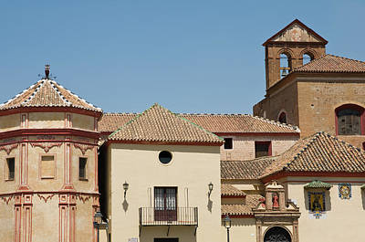 Photograph - Historical Buildings In Malaga by Jenny Rainbow