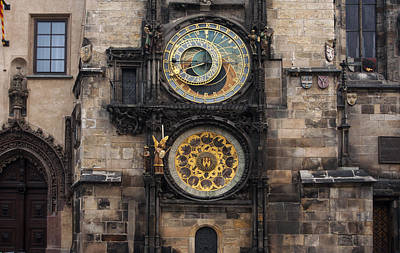 Photograph - Astronomical Clock by Jed Holtzman