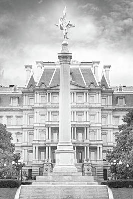 Photograph - Historical Eisenhower Executive Building by Mark Andrew Thomas
