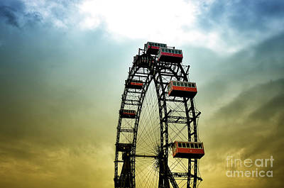 Photograph - Historical Ferris Wheel by Jan Brons