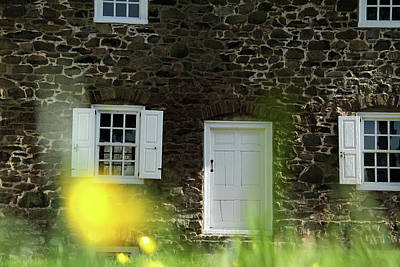 Photograph - Historical House In Washington Crossing State Park by Emanuel Tanjala
