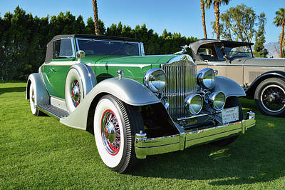 Photograph - Historical Packard Roadster by Bill Dutting