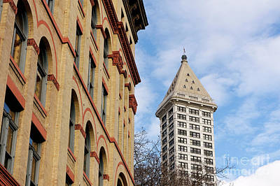 Photograph - Historical Seattle 1 by John  Mitchell