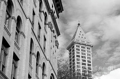 Photograph - Historical Seattle 2 by John  Mitchell