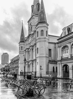 Photograph - Historical St. Louis Cathedral - Nola by Kathleen K Parker