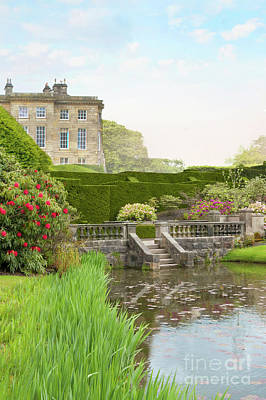 Photograph - Historical Stately Home With Beautiful Gardens And Lake by Lee Avison