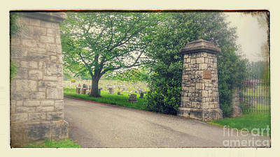 Photograph - Historical Union Hill Cemetery by Sandy Moulder