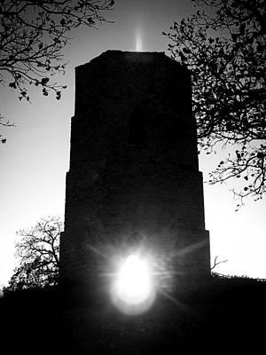 Photograph - Historical Water Tower At Sunset by Viviana  Nadowski