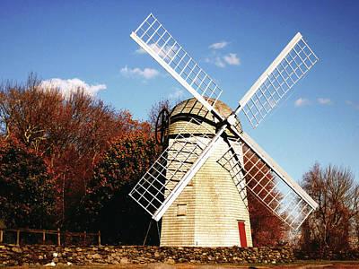 Historical Windmill Art Print