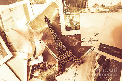Writer Photograph - History And Sentiment Of Vintage Paris by Jorgo Photography - Wall Art Gallery