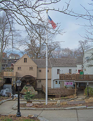 Jenny Grist Mill Photograph - History by Don Lonergan