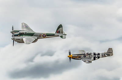 Aircraft Photograph - History In Flight by Ken McAllister