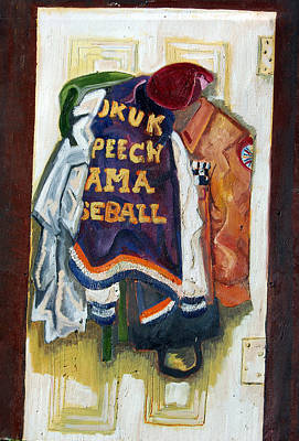 Letterman Painting - History by Jame Hayes